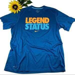 Nike Dri Fit Legend Status Swoosh Shirt